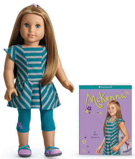 McKenna, 2012's American Girl of the Year