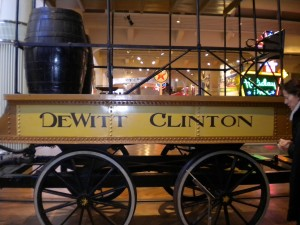 This is a replica of one of the carriages from the first train.