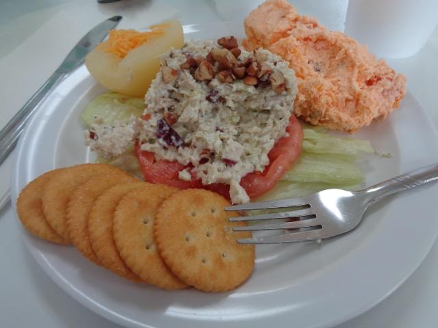 My lunch. Yum!