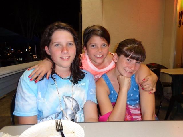 Eliana, Brynn and me