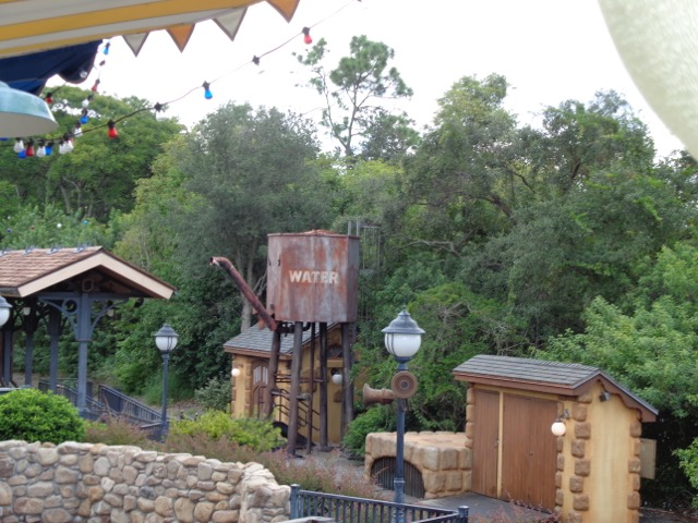 The Barnstormer. Well at least the view from the line.