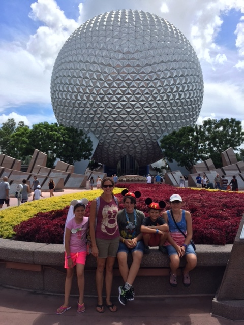 We made it to Epcot!