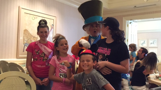 The Mad Hatter was so goofy!