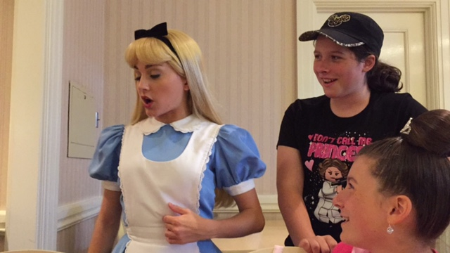 Alice was really cool.