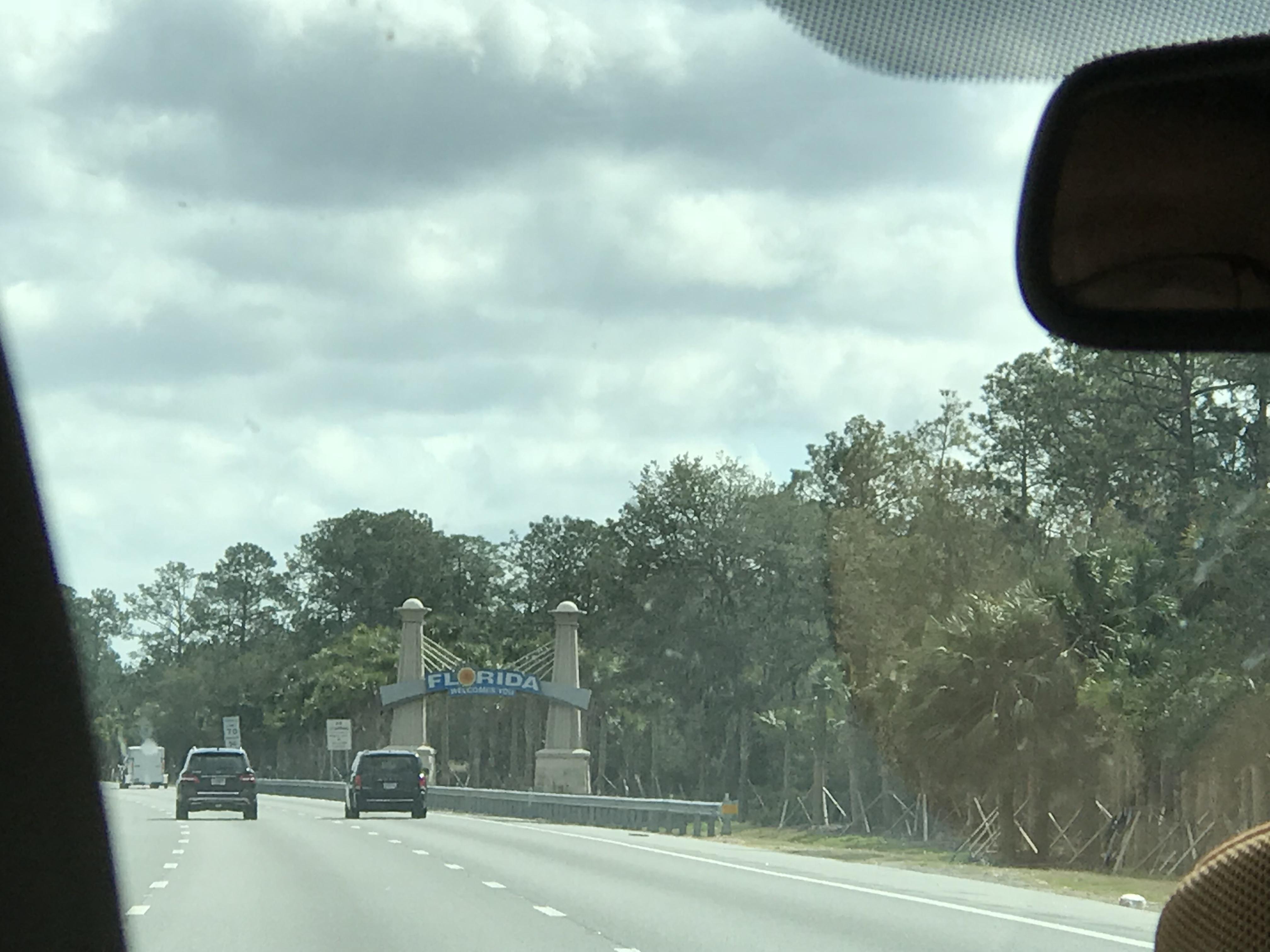 Florida sign!