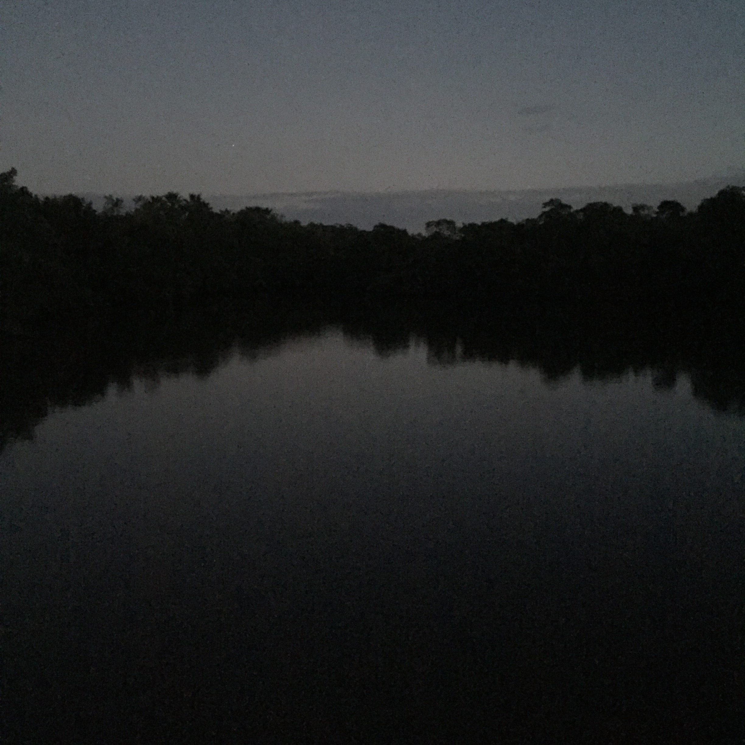 This is actually a lake we discovered when taking our short walk.