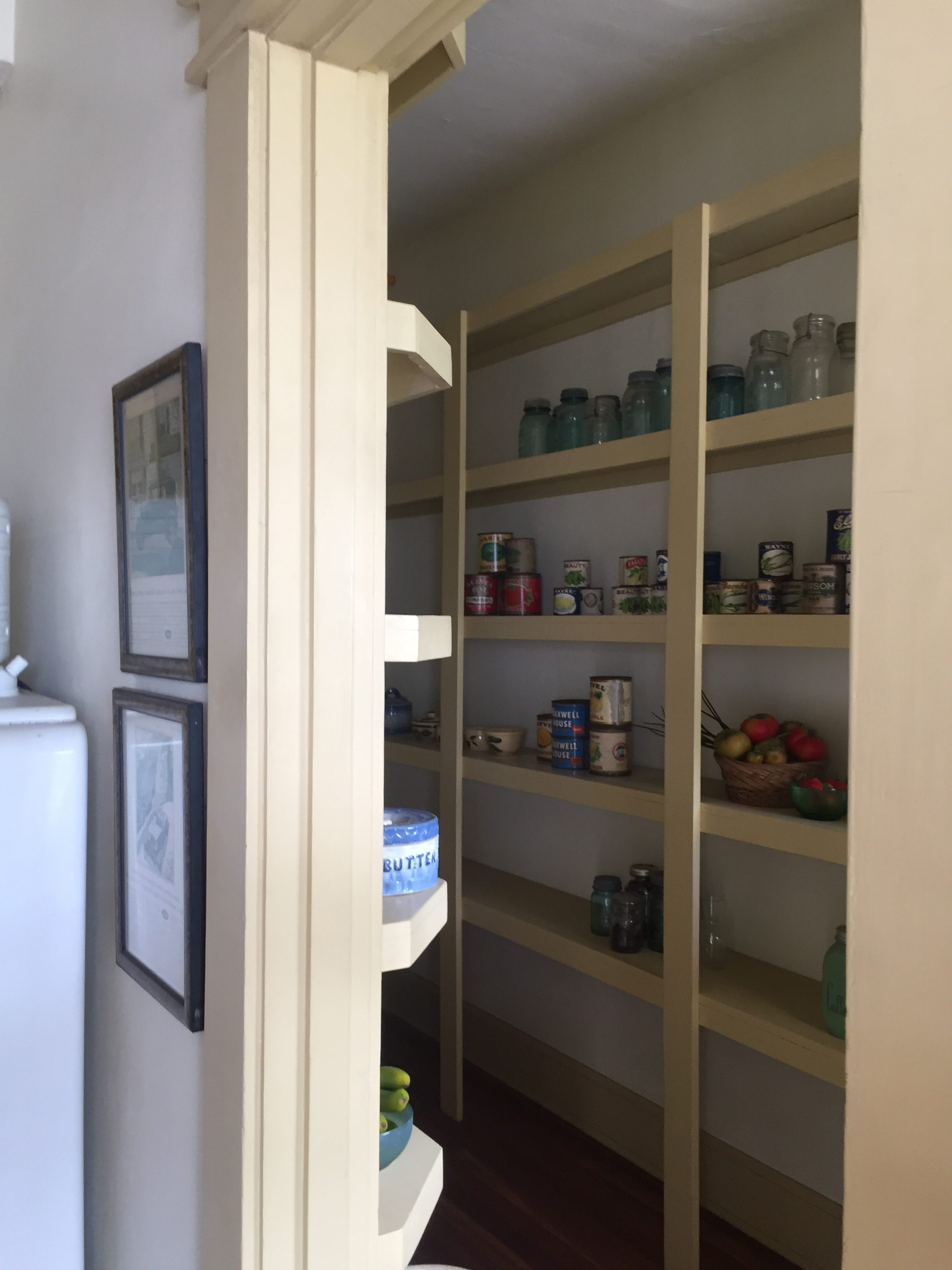 This is the pantry.
