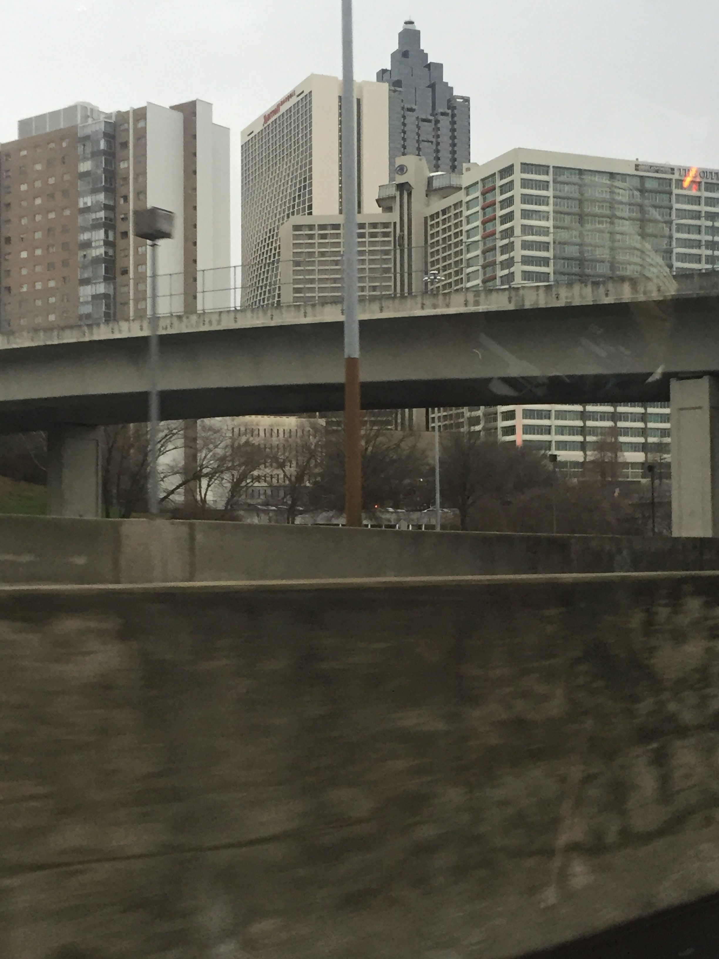 Some buildings from the city of Atlanta.