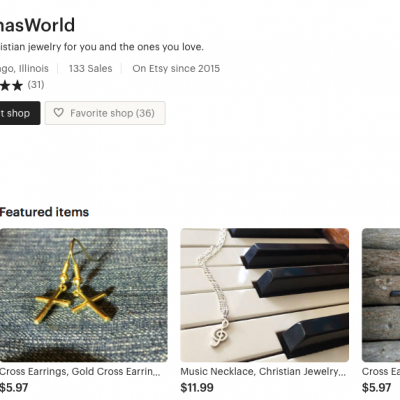 Kennas World Etsy Store Back Open!