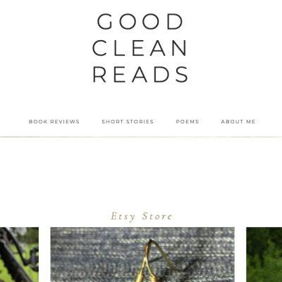 GoodCleanReads – New Blog!